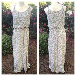 ❤️LOFT SOFT brushed colored cheetah maxi dress
